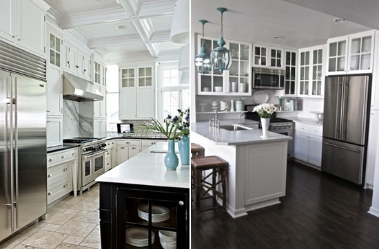 Pinterest Trends: Monochromatic Kitchens | Mayhar Design